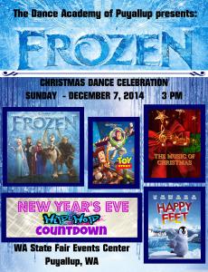 Frozen Recital_Poster_8x10